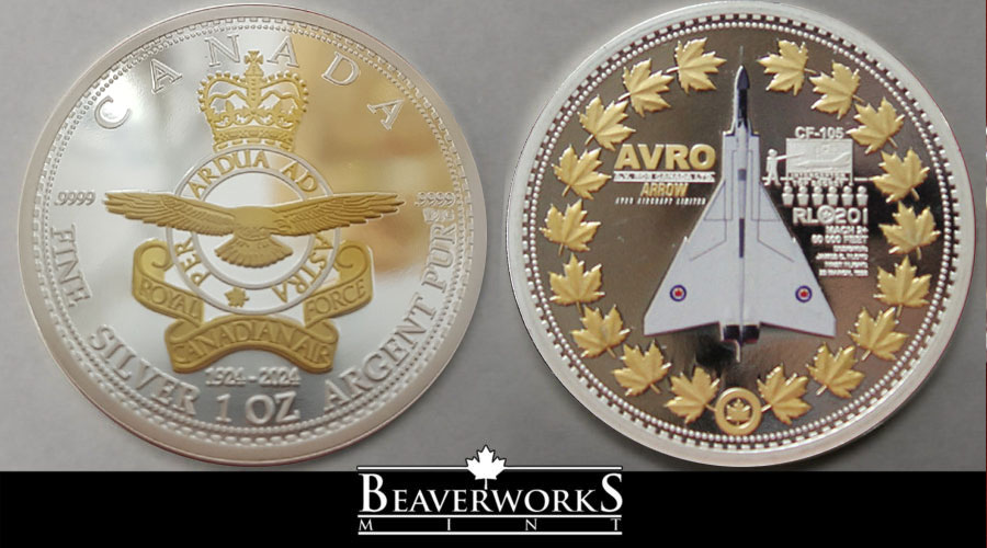 https://www.beaverworksmint.ca/product/avro-arrow-9999-fine-silver-coin/