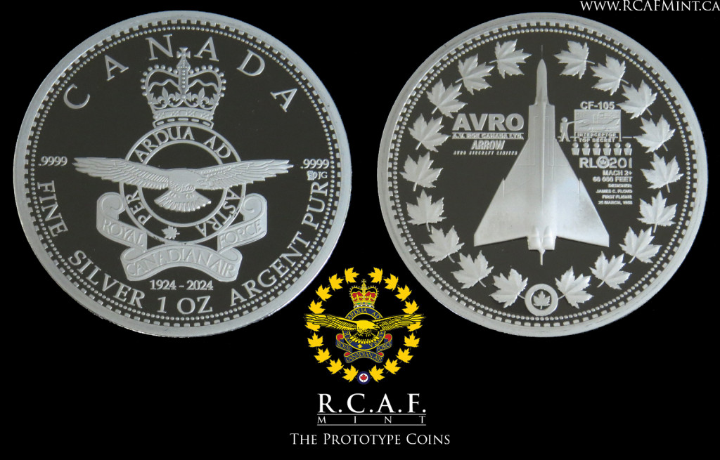 The Prototype Silver coins without select gold plate or printing.